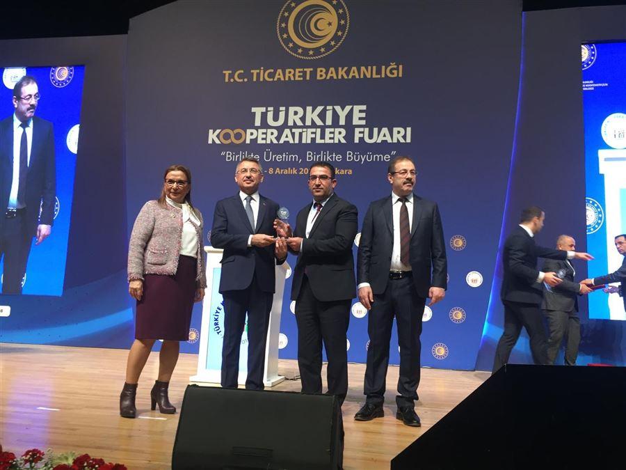 Kooperatifçilik Fuarı Ödülü