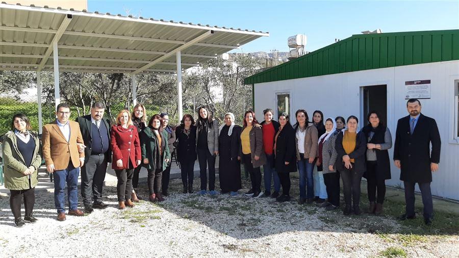 Hatay Milletvekilimiz Sayın Sabahat ÖZGÜRSOY ÇELİK'in Kadın Kooperatiflerimizi Ziyareti
