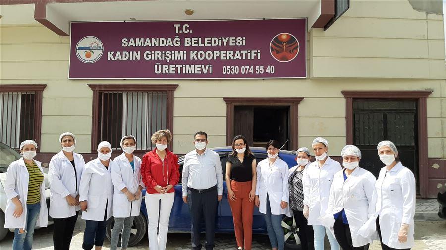 Samandağ Kadın Girişimi Üretimi ve İşletme Kooperatifi Ziyareti